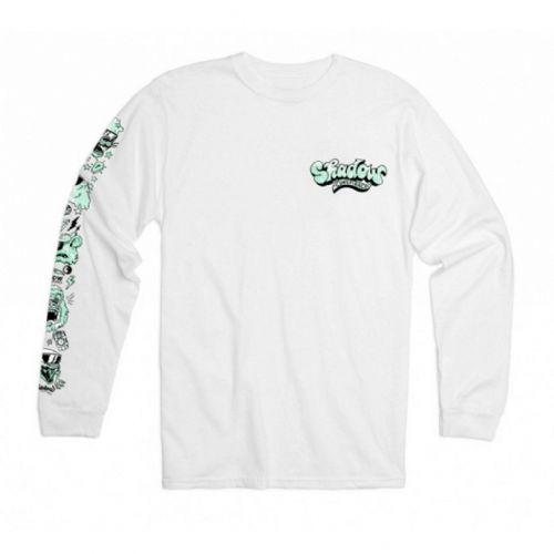Shadow Shades L/S T-Shirt - White XL